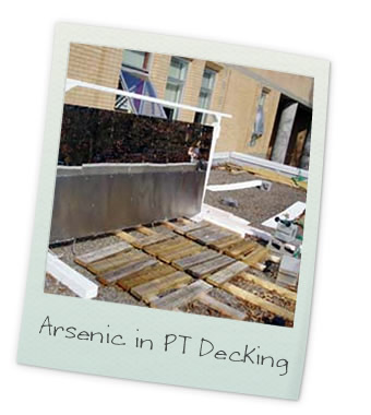 Arsenic in pressure-treated decking