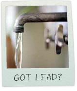 Lead contaminated drinking water